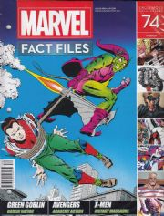 Marvel Fact Files #74 Eaglemoss Publications